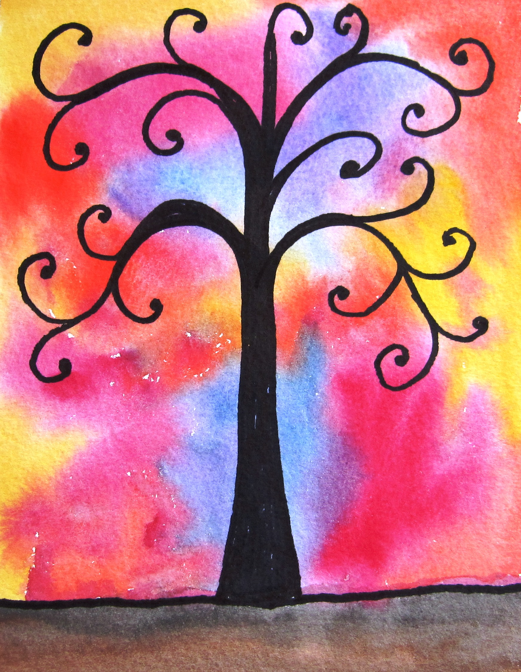 Trees | Art With Denise