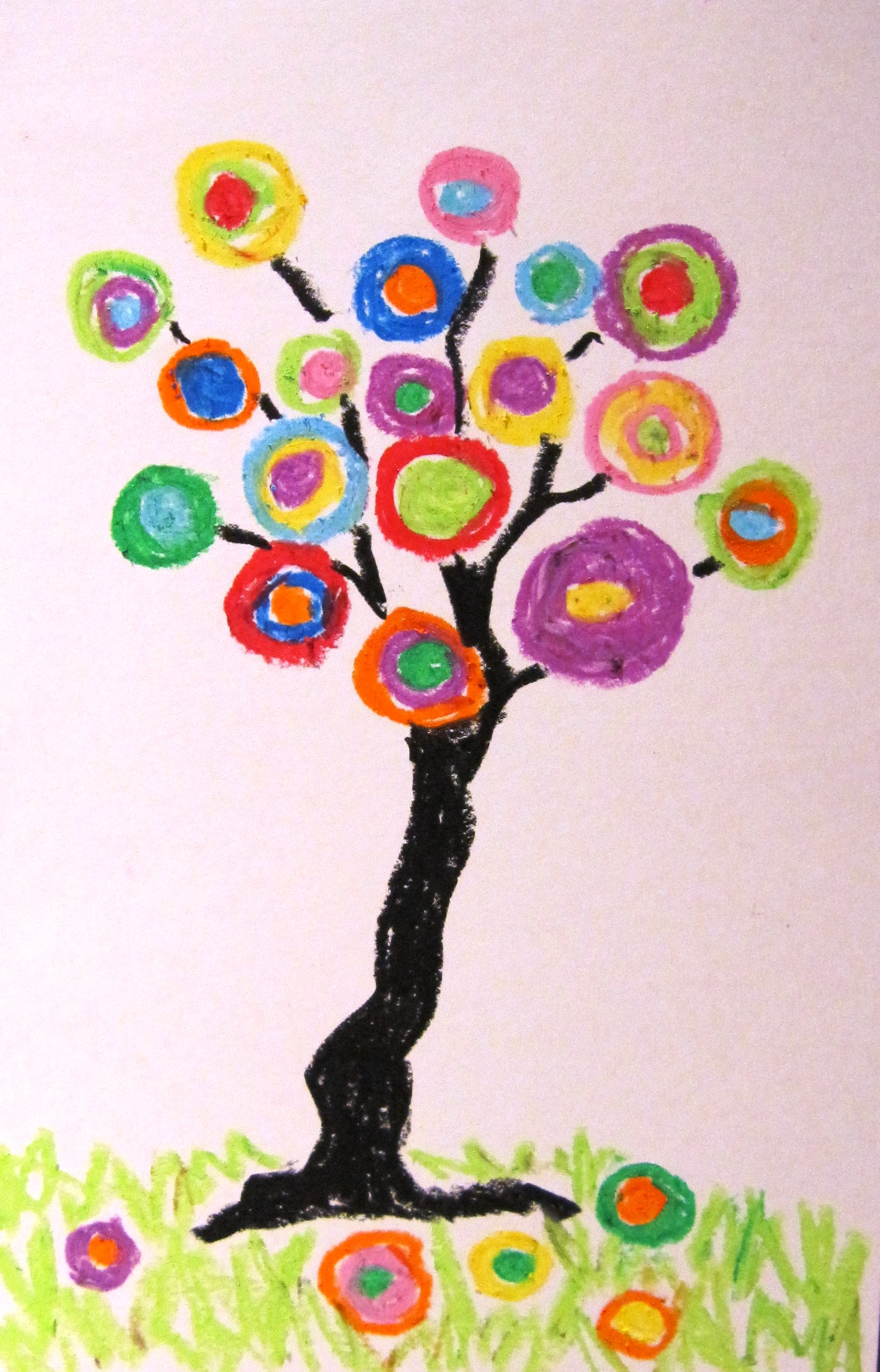 Kandinsky Tree Lesson http://www.artwithdenise.com/art-by-subject/artist-inspired/
